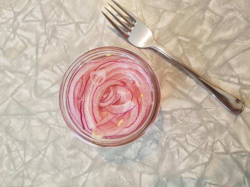 Quick Pickled RedOnion
